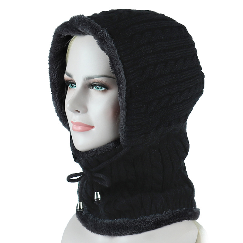 oZyc Winter Knitted Hat Beanie Men Scarf Skullies Beanies Winter Hats For Women Men Caps Gorras Bonnet Mask Brand Hats 2018