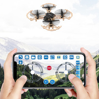 DIY Wooden Drone Assembly Four axis Aircraft HD Aerial Remote Control Aircraft Model Aircraft Teaching Machine Toy Gifts