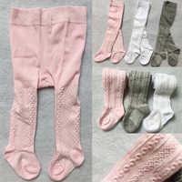 Bebê primavera/outono collants algodão do bebê menina meia-calça criança infantil malha collant collants macio infantil roupas