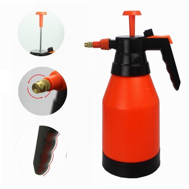 garden pump sprayer. 1.5L Pump Sprayer Portable Pressure Garden Spray Bottle Plant Water Plastic Sprinkler Watering