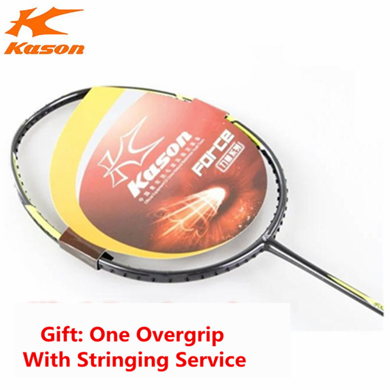 Kason Badminton Rackets Men and Women Carbon Fiber Force 5000 Racquet Produced by Lining OEM Factory Top Quality L514
