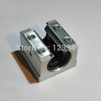 4PCS Lot SBR25UU CNC Linear Ball Bearing Support Unit Pillow Blocks With Platen 25mm SBR Series