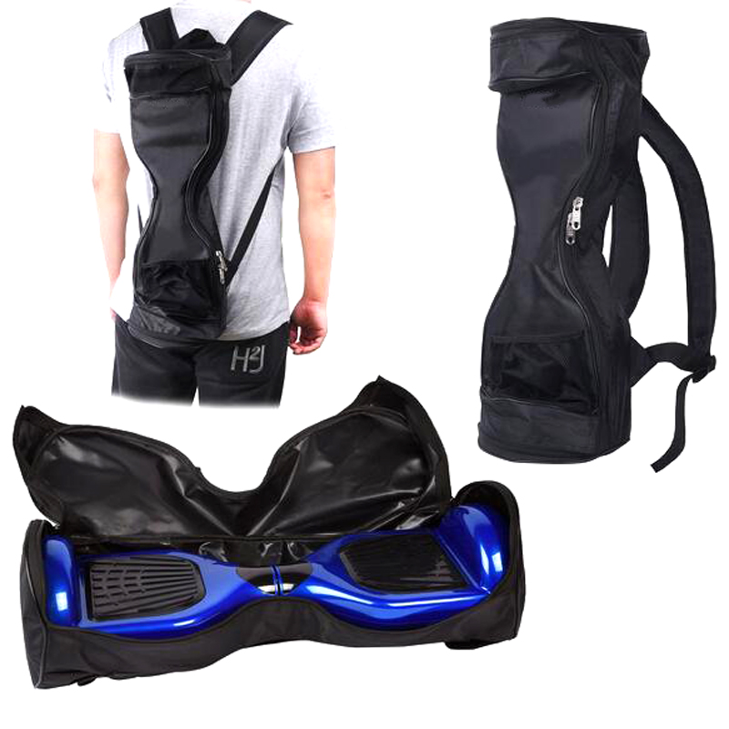 Waterproof Portable Handbag Smart Self Balance 2 Wheels Electric font b Scooter b font Skateboard Backpack