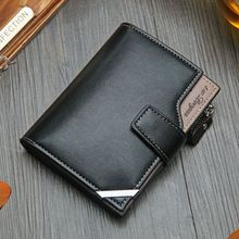 лучшая цена NO.ONEPAUL Vintage Men's Short Wallet Men Genuine Leather  Multi-Card Bit Retro Card Holder Clutch Wallets Purses First Layer Re
