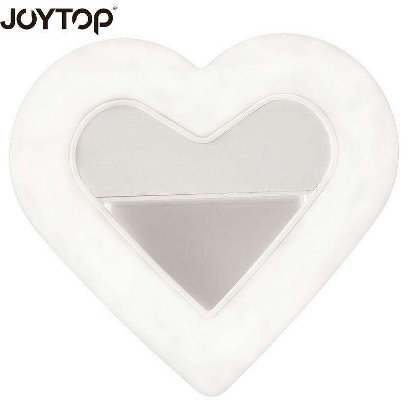 JOYTOP original en forma de corazón Selfie Light Clip-on teléfono - Cámara y foto