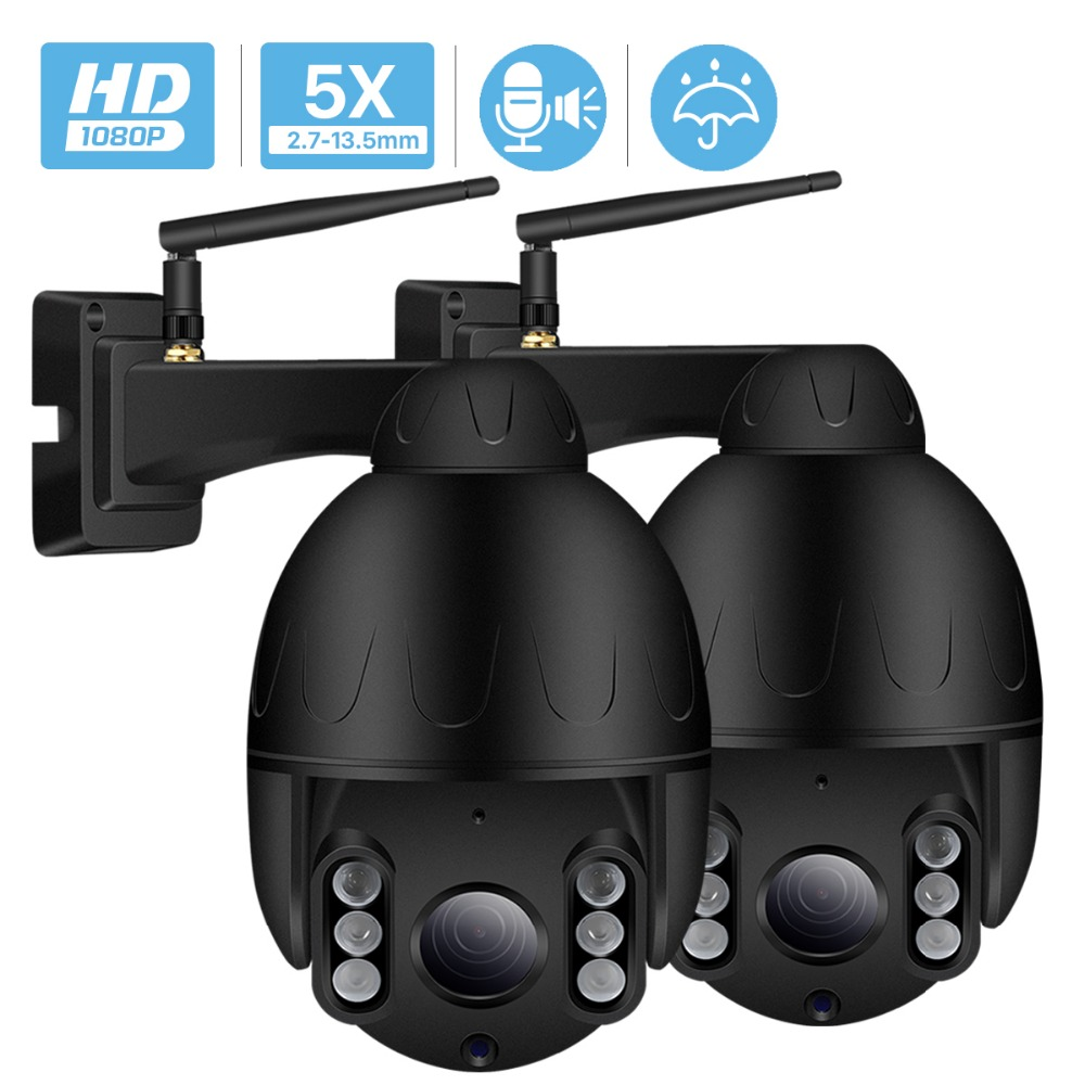 1080P 2MP PTZ IP Camera Outdoor Onvif 5X ZOOM Waterproof Mini Speed Dome Camera 2MP H