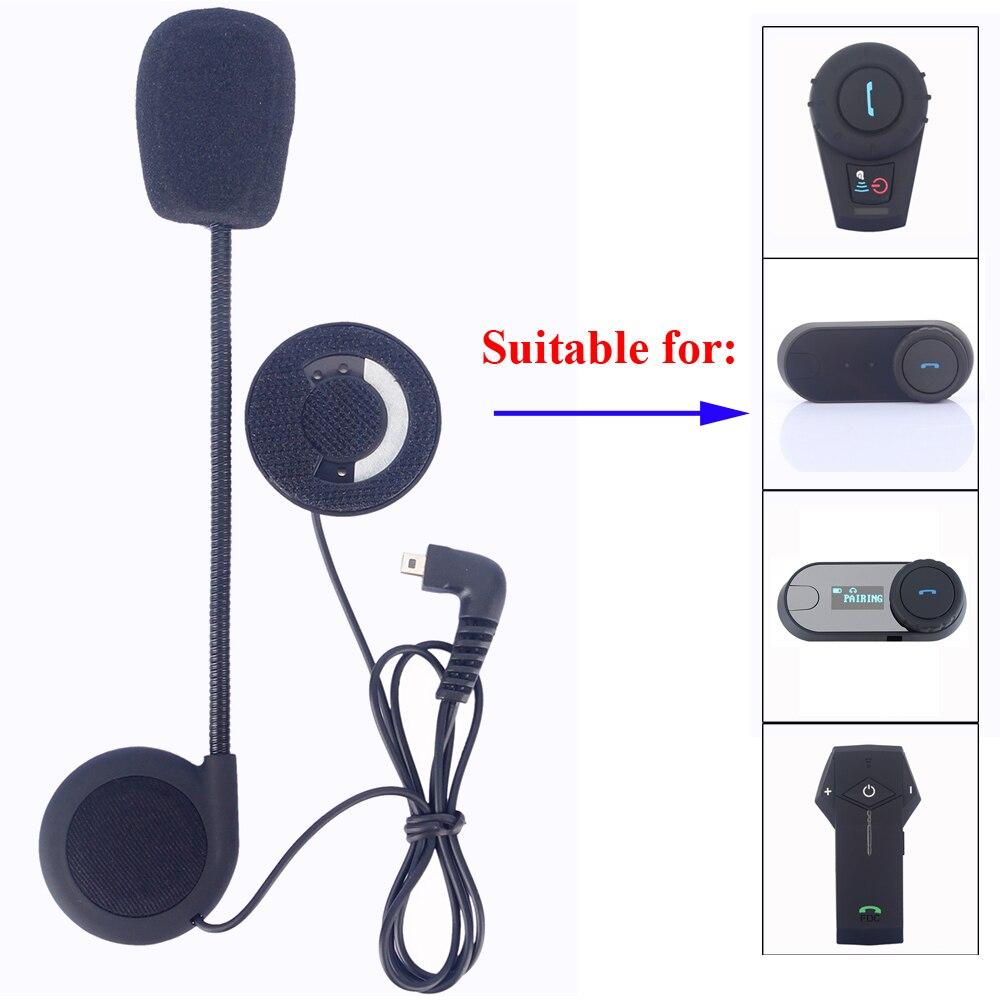Freedconn Microphone Headphone Speaker Accessories Suit For T-COM02 T-COMVB TCOM-SC Bluetooth Helmet Intercom Headset Parts