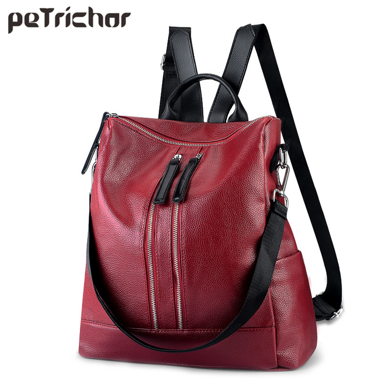 ew Multi-functional Women Backpack & Shoulder Bag