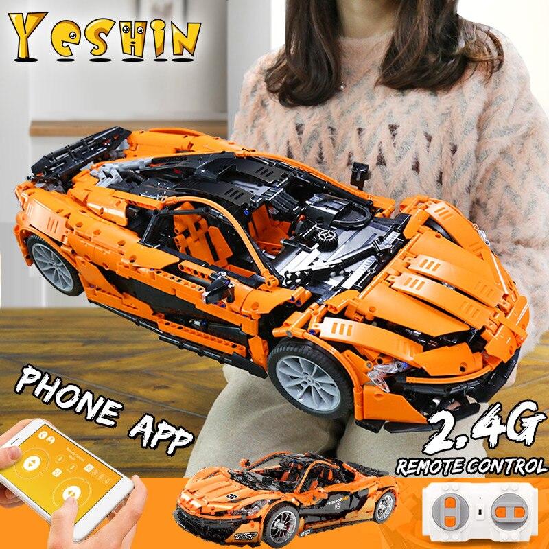 Oyuncaklar ve Hobi Ürünleri'ten Bloklar'de 20087 Teknİk serisi P1 Hypercar 1:8 MOC 16915 Süper Yarış Araba modeli Yapı Taşları Tuğla oyuncaklar yılbaşı hediyeleri'da  Grup 1