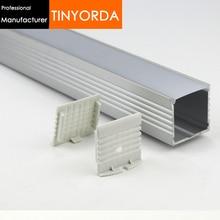 Tinyorda 1000Pcs(1M Length)  Alu Profile Led Channel Profil for 30mm LED Strip Light [Professional Manufacturer]TAP3535