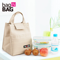 Baginbag Women Casual Pack Lunch Bags Insulation Bags Pack Ice Bag Rice Portable Canvas Board Box Portable Lunch Handbag