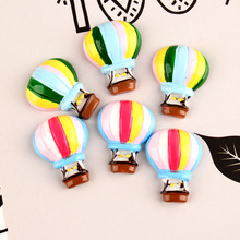 10pcs/lot Resin Rainbow balloon Decoration Crafts Kawaii Flatback Cabochon Embellishments For Scrapbooking DIY AccessoriesButto