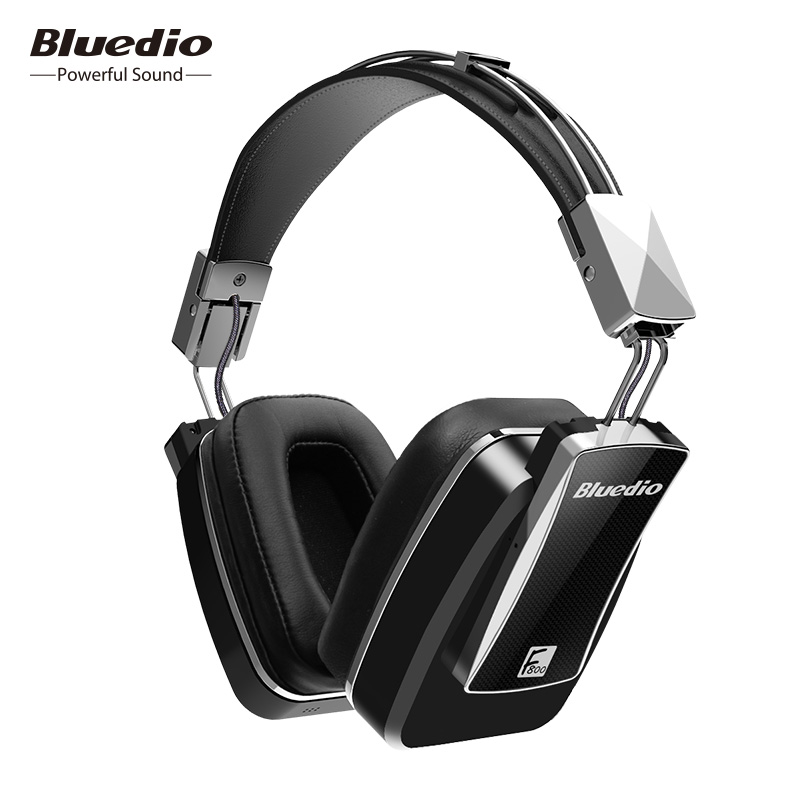Original Bluedio F800 Active Noise Cancelling Wireless Bluetooth headphones Junior ANC Edition around the ear headset (black) Наушники