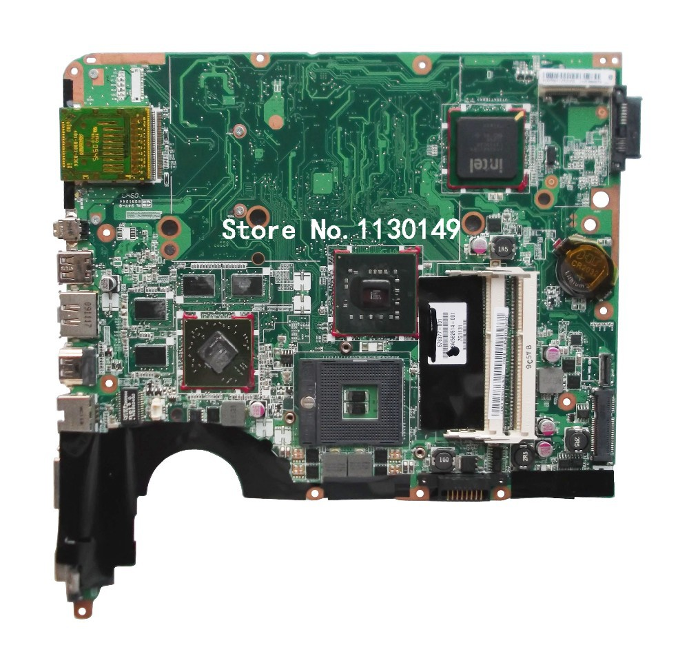 ФОТО Free Shipping 578377-001 for HP pavilion DV6 DV6-1000 motherboard DDR3 100% Original tested good
