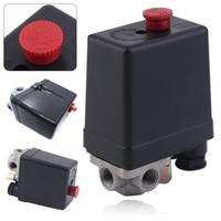 3 Phase Heavy Duty Air Compressor Pressure Switch Control Valve 380 400V Air Compressor Switch Control