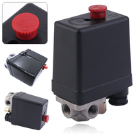 3 Phase Heavy Duty Air Compressor Pressure Switch Control Valve 380 400V Air Compressor Switch Control