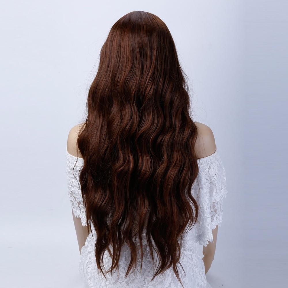 de alta temperatura perucas sintéticas cabelo longo