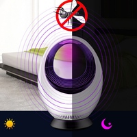 USB Electronic Mosquito Killer Led Lamp Trap Insect Fly Pests Catcher Anti Fly Insect Trap Indoor Outdoor Pest Control Product