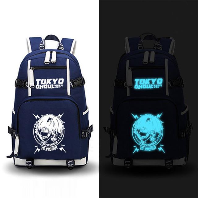 Tokyo Ghoul Kaneki Ken Printing Backpack School Bags