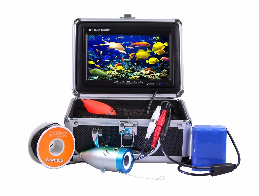 Underwater 30M 700TVL 7 Inch Monitor Fishing Camera AV Handheld Endoscope