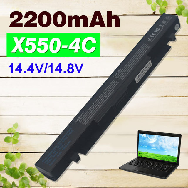 2200 мАч Аккумулятор Для Asus A41-X550 A41-X550A A450 A550 F450 F550 F552 K550 P450 P550 R409 R510 X450 X550 X550C X550A X550CA