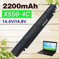2200 mah bateria para asus a41-x550 a41-x550a a450 a550 f450 f550 F552 K550 P450 P550 R409 R510 X450 X550 X550C X550A X550CA