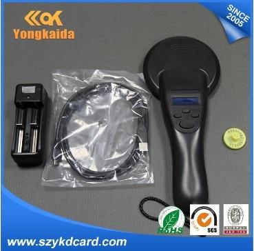 Yongkaida Long Range 134.2KHz Animal RFID Reader For Microchip/Ear Tag