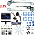 Universal Front 2-Doors Car Auto Electric Power Window Kits with Set Switches and Harness  #CA905