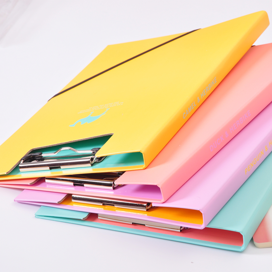 32 x 22cm Clip Board Paper Clips Clipboards A4 Office Supplies School Stationery with hook portable writing pad Filing Products