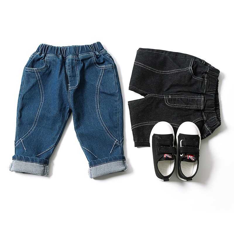 100% QualitäT Kinder Jungen Zerrissene Jeans Kinder Mode Denim Hosen Baby Casual Jean Infant Jungen Marke Hosen Kinder Hosen Mode Mädchen Jeans üBerlegene Materialien