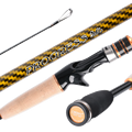 Ultra High Quality Sea Stream Pole Fishing Lure Rod Carp Rock Spinning Casting Rod High Carbon Fiber Power Hand Rod 1.98/2.13m