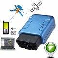 OBDII OBD2 Мини Автомобильный GPS трекер GSM GPRS TCP отслеживание в реальном времени