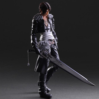 Final Fantasy VIII Squall Leonhart Action Figure Model Toys PLAY ARTS 27cm