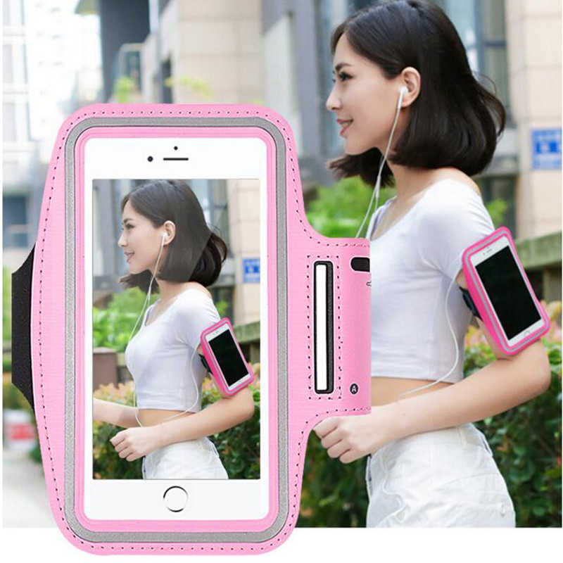 Arm Band arm mobile phone bag  Running sport Arm  Leather Case Dirt-resistant Hand Mobile Phone Holder for 4-6inch smart phone