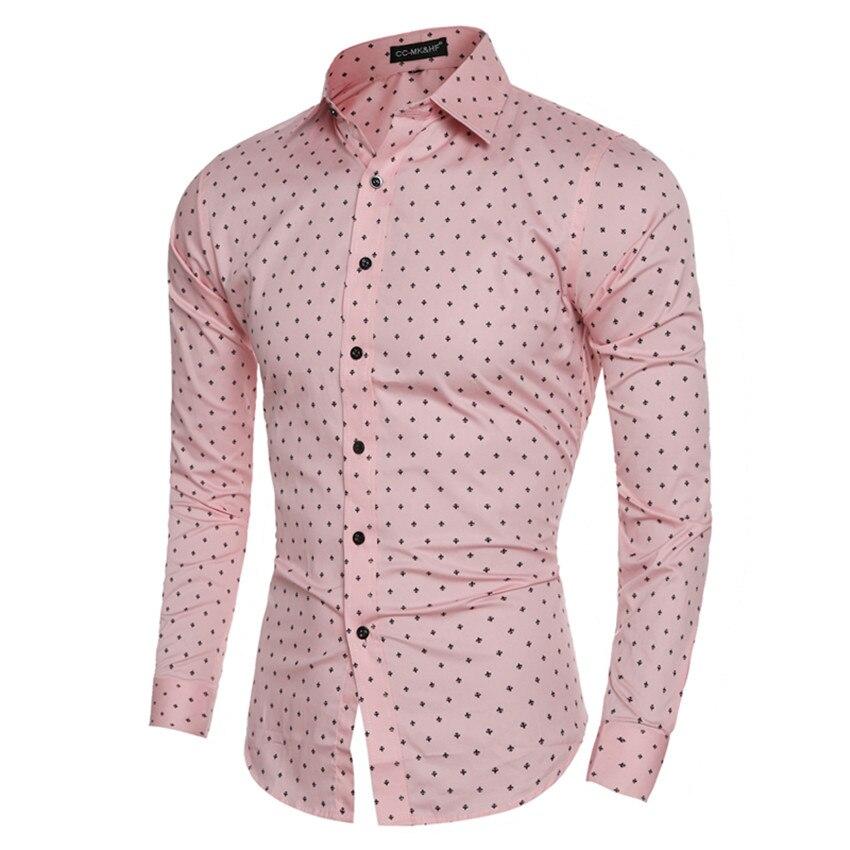 2017 casual shirts fashion dress men cotton shirt plane for Patterned dress shirts for men