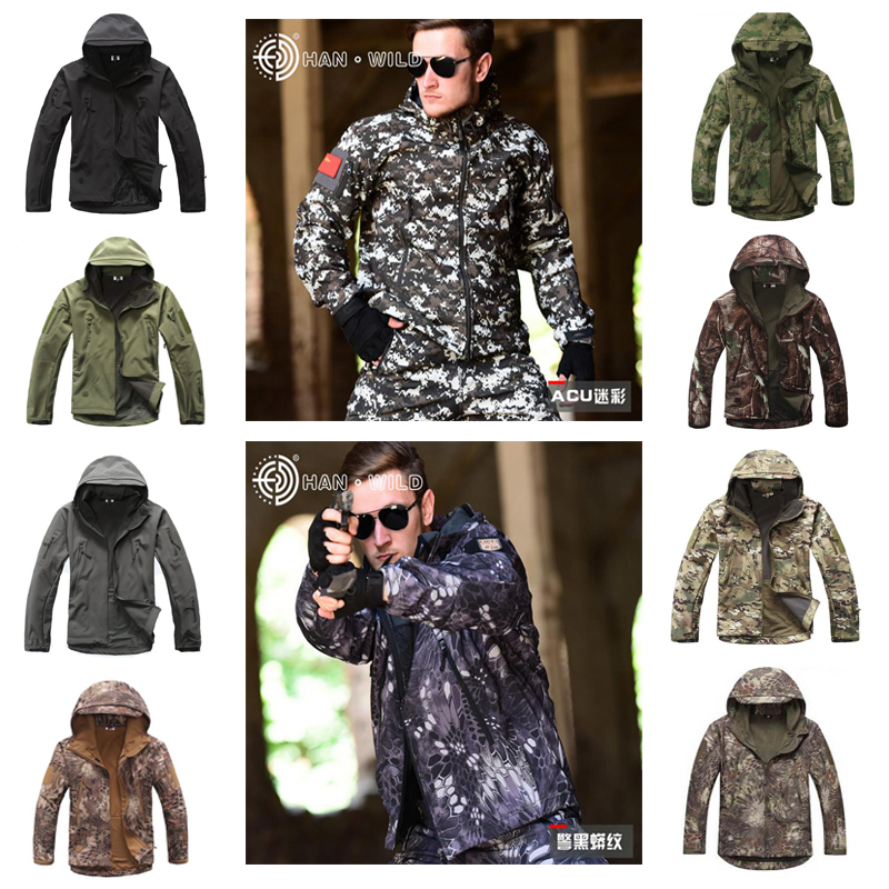 TAD V 4.0 Lurker Softshell Jacket Or Pants Men Tactical Jacket Outdoor Waterproof Windproof Camouflage Hunting Clothing lurker shark skin soft shell v4 military tactical jacket men waterproof windproof warm coat camouflage hooded camo army clothing