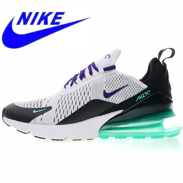 pretty nice a9121 a358d Original NIKE Air Max 270 Men s Women s, Running Shoes, White, Good Quality  Shock Absorption Non-slip Breathable AH8050 103
