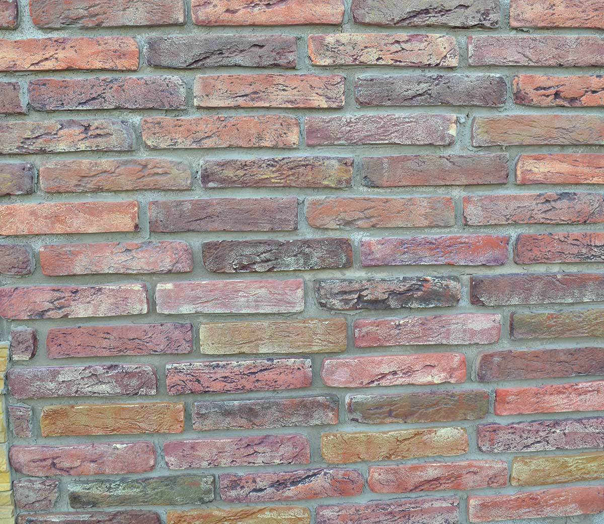 2pieceslot 20 bricks antique brick maker mold garden house path road concrete plastic wall - Concrete Tile Garden Decor