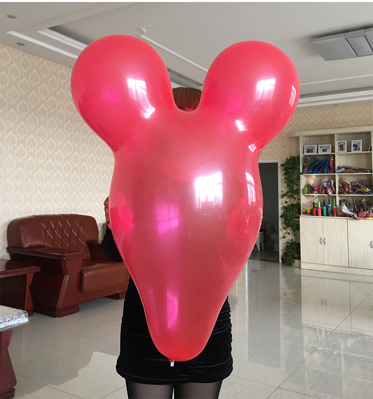 NASTASIA10pcs/lot 36 7g inch Mickey balloon Big balloon wholesale new Color optional Kids toys birthday party decoration