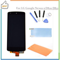 New For LG Google Nexus 5 D820 D821 LCD Display Touch Screen Digitizer Assembly+Tools+Adhesive+Phone Film Nexus 5,free shipping