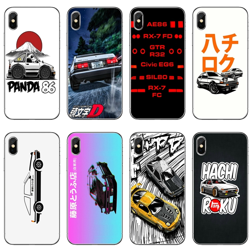 Initial D Ae86 Luxury For Samsung Galaxy S10 S9 S8 S7 S6