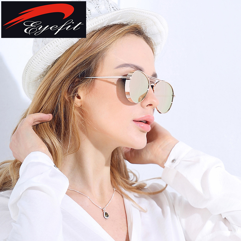 e1cdb5fafcb Male Aviator Sunglasses Men Luxury Brand Mirror Round Sun Glasses For Men  Driving Silver Metal Shades Oculos Original 2016 New-in Sunglasses from  Apparel ...