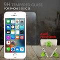 Protector de pantalla de cristal templado de cine para apple iphone 5 5s sí anti-arañazos protector de pantalla para iphone se 5c templado de vidrio película