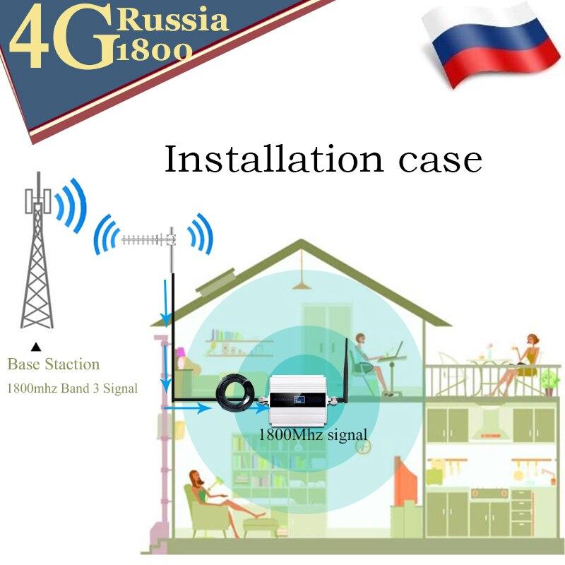 1800 amplificateur cellulaire répéteur 2g 4g 1800mhz GSM amplificateur de Signal Mobile 4g amplificateur de signal 1800 dcs téléphone cellulaire - 6
