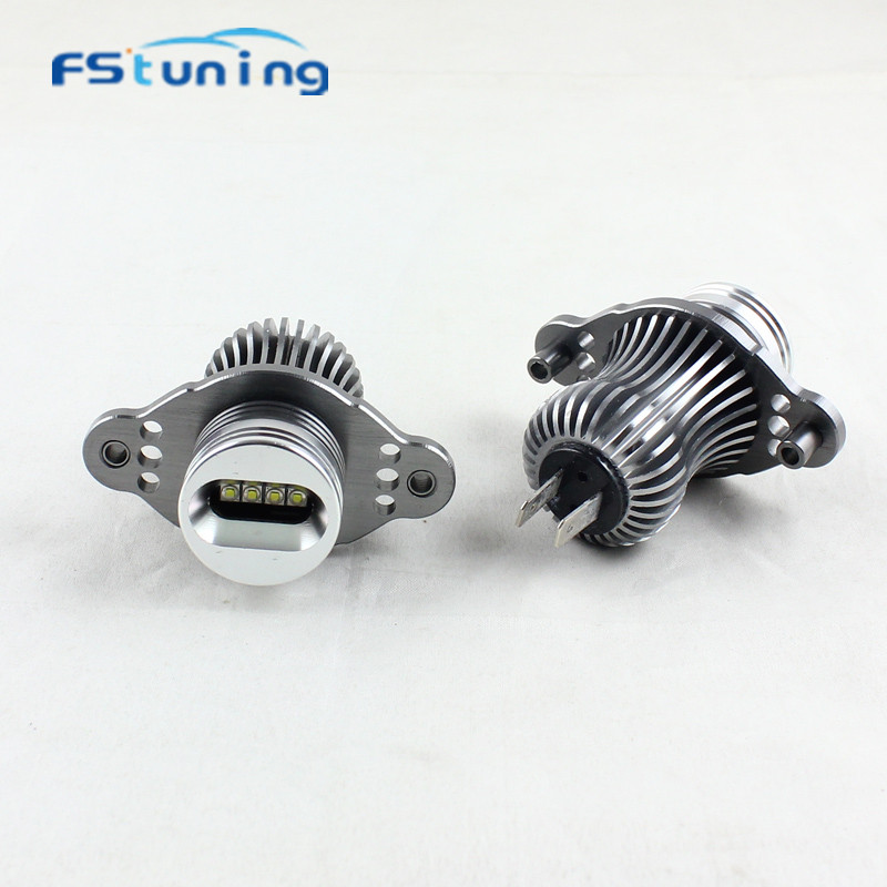 FStuning No error 40W LED Marker Angel Eyes canbus for BMW E90 E91 LCI with halogen led angel eyes for bmw 328i 328i 335i 335i 2pcs angel eyes car auto white led light for bmw e90 e91 3 series 325i 328i 325xi 328xi 330i 06 08 excellent quality angel eyes