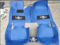 3d luxury car floor mats for BMW f10 g30 e34 e36 e39 e46 e60 e83 e84 e90 f10 f30 x1 x3 x4 x5 x6 1/2/3/4/5/6/7 car accessories