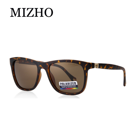 MIZHO Brand Plastic Retro Square Polarized Sunglasses Men Fashion UV400 Eyewear Traveling Women Sun Glasses Drives Travel Oculos Pakistan