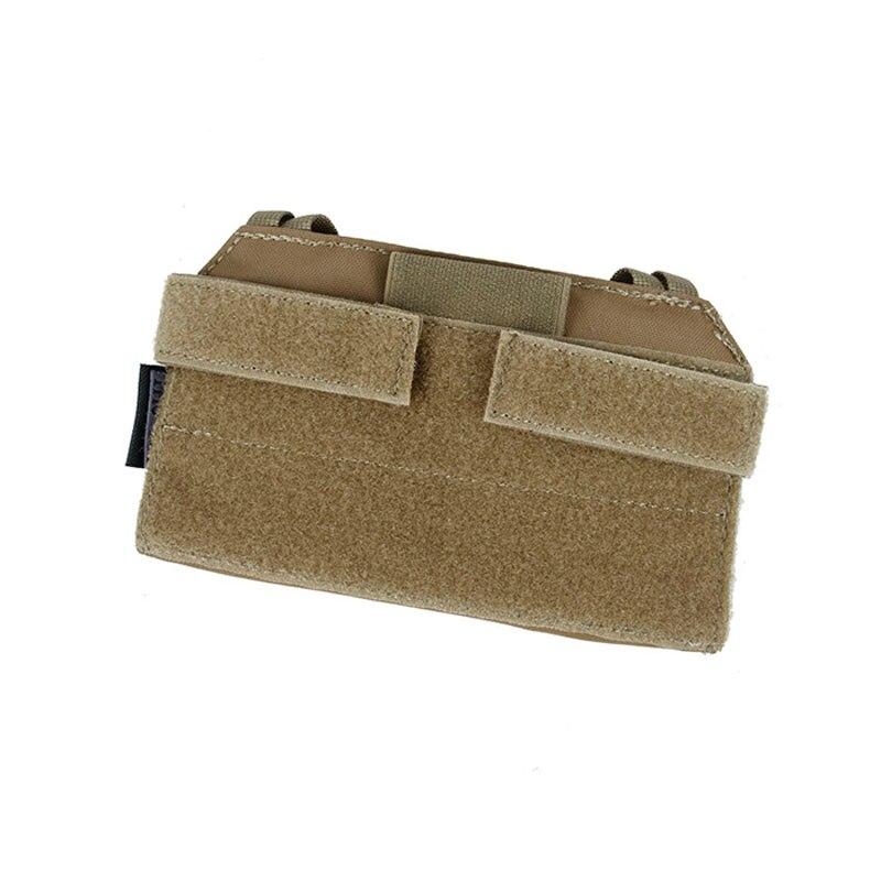 Tactical CPC JPC AVS Vest Special Front Panel Attachment Mobile Phone Bag TMC MT Admin Pouch (CB)