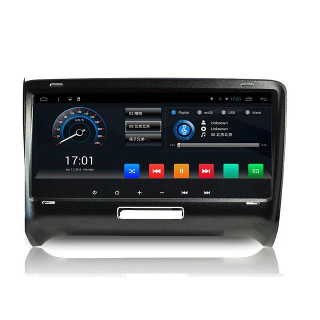 Aoluoya RAM 2GB  Android 6.0 2 Din CAR Radio DVD GPS Player For AUDI TT 2006 2007 2008 2009 2010 2011 2012 2013 2014 WIFI 3G DAB
