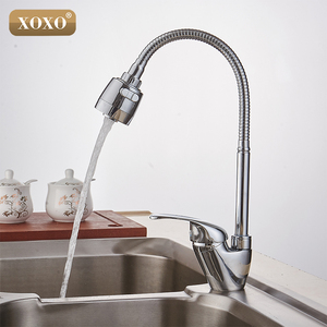 Image 2 - XOXO Brass mixer tap cold and hot water kitchen faucet  kitchen sink tap Multifunction shower Washing machine 2262